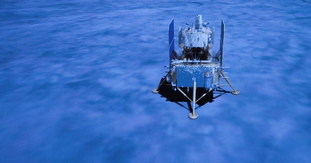 sonda espacial de China en la Luna