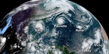 La temporada de huracanes del Atlántico