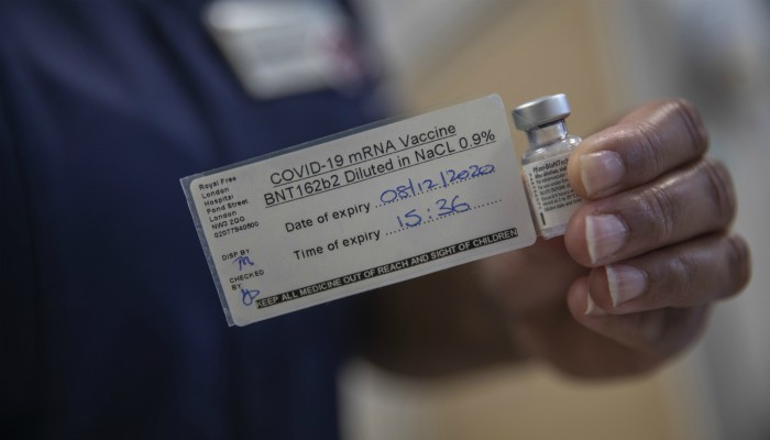 Vacuna contra el coronavirus de Pfizer y BioNTech
