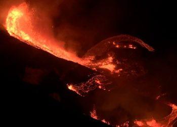 volcán Kilauea entró en erupción en de Hawái.