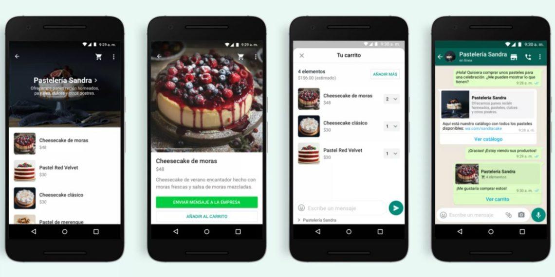 WhatsApp agrega carrito de compras a sus funciones