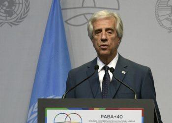 Líderes políticos se despiden del expresidente uruguayo Tabaré Vázquez