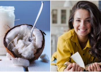 receta con aceite con coco