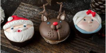 decorar tortas de Navidad