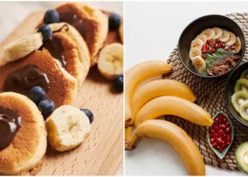 desayunos de plátano