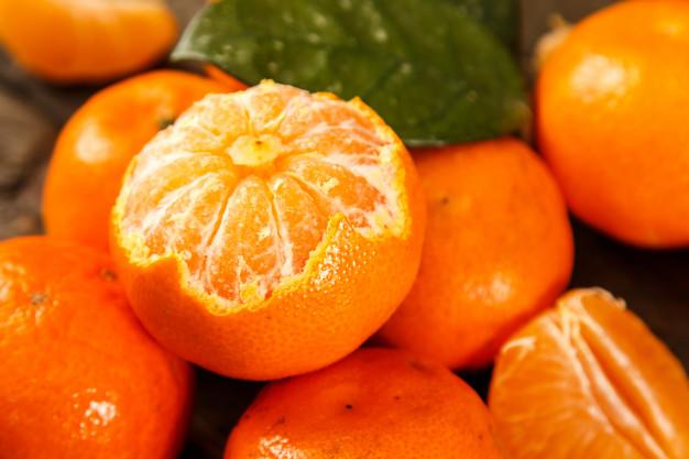 mascarilla de mandarina