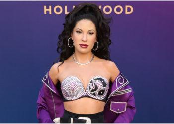 Famosas que se han vestido de Selena. Foto:  AFP