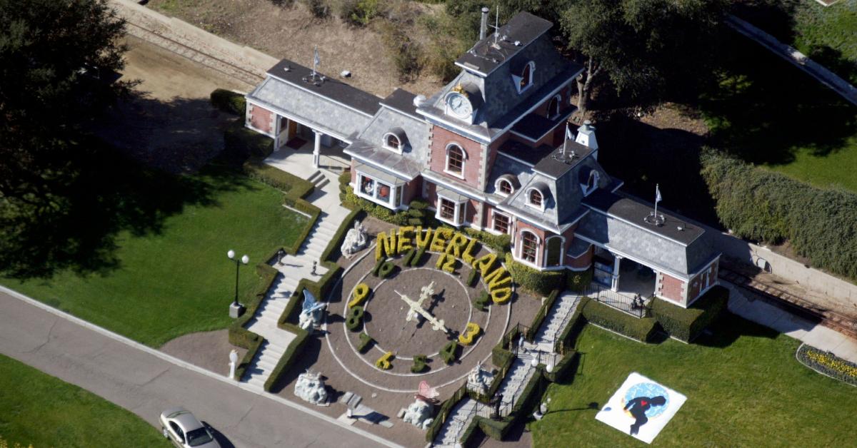 Neverland, la icónica propiedad de Michael Jackson, se vendió por mucho menos de la mitad de su valor