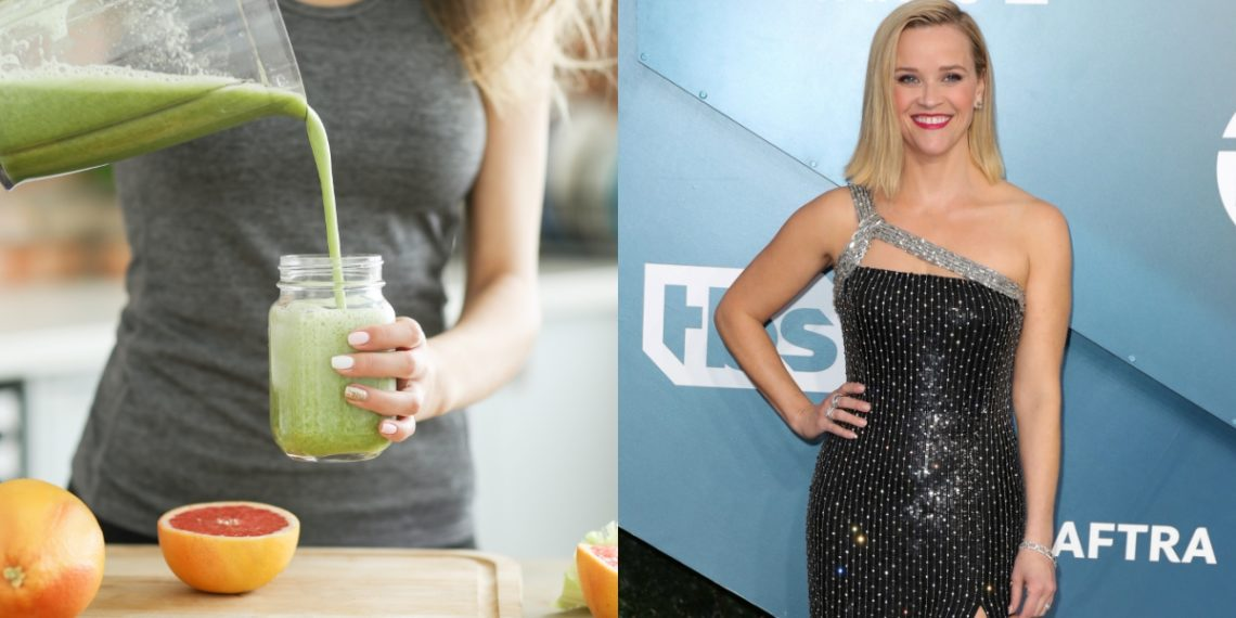 (Green smoothie) o batido verde de Reese Witherspoon