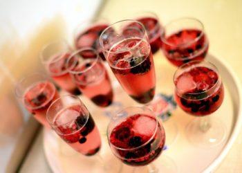 Bebidas con licor para brindar