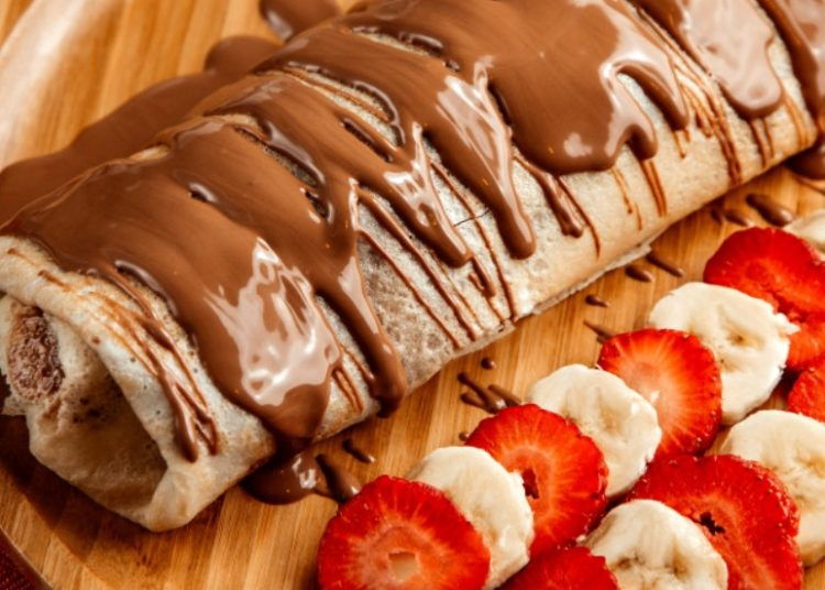 Rellenas con chocolate