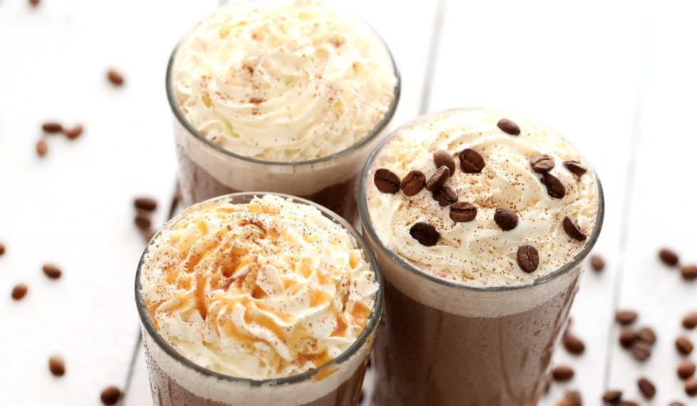 Receta de frappuccino de chocolate con chispas
