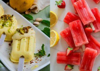 Recetas de helados fitness caseros fáciles y sanos