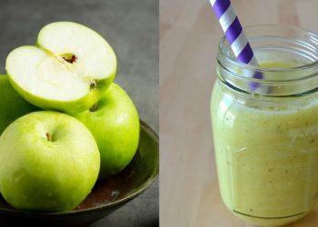 Cómo hacer jugo de manzana verde con comporta para tus meriendas saludables y económicas