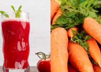 Beneficios de la receta de jugo de tomate con apio