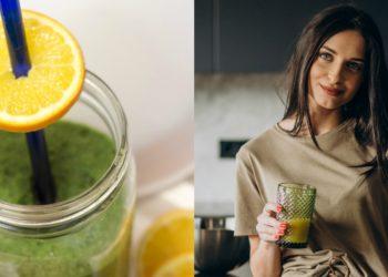 Receta y beneficios de jugo verde con espinaca y leche de coco