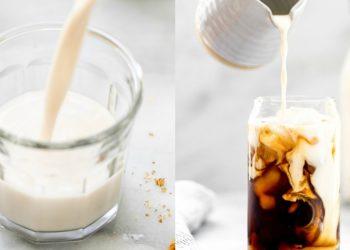 Receta de leche de nuez (nueces)