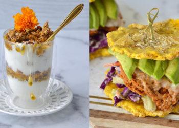Meriendas caseras, proteicas y bajas en calorías
