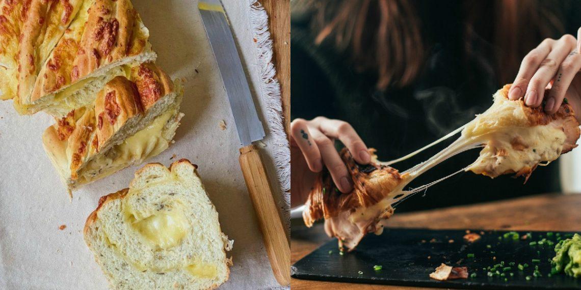 Receta de pan de queso casero trenzado