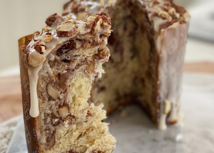 Pan dulce (panettone)