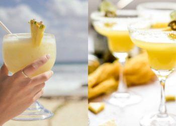 Receta de margarita de piña: un cóctel saludable y tropical
