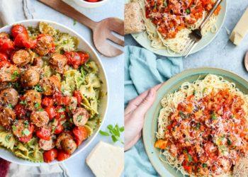 Cocina estas recetas con pasta