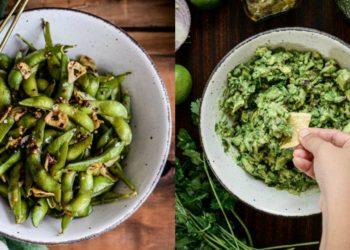 Recetas de snacks saludables, veganos, fáciles y salados