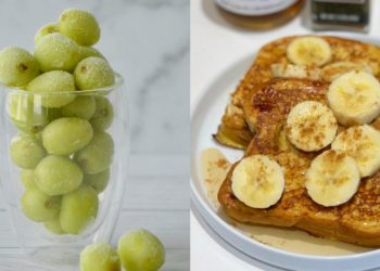 Recetas saludables para comer: funcionan de meriendas sanas o desayunos para niños y adultos