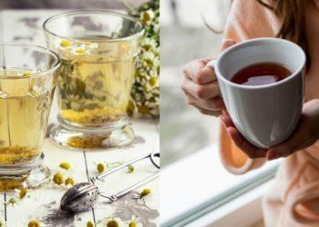 Receta de té de manzanilla y para qué sirve