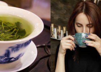 Té verde con limón y jengibre