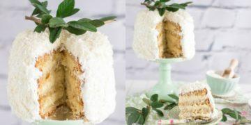 Postre destacado: cómo hacer una torta de coco para las celebraciones