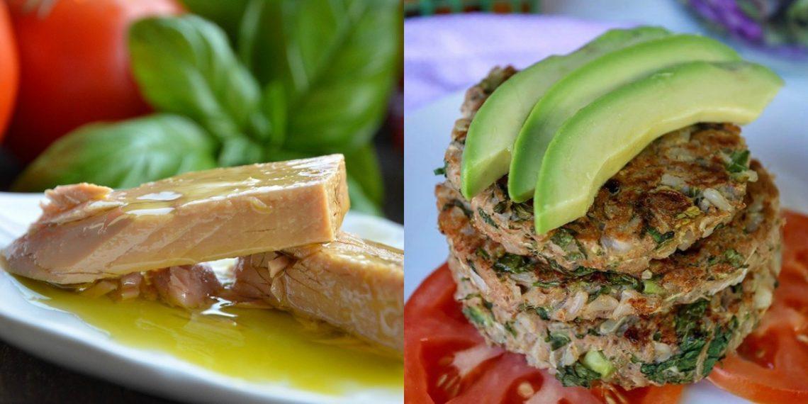 Receta de tortitas de atún saludables para hacer en los desayunos sanos y nutritivos a niños y adultos