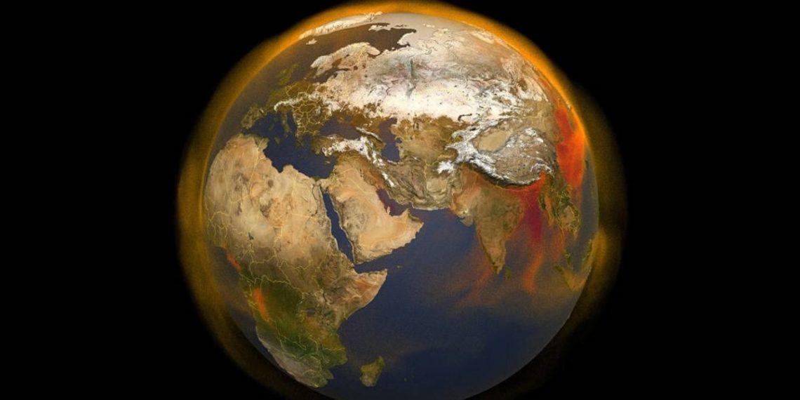 temperatura del planeta por el cambio climático