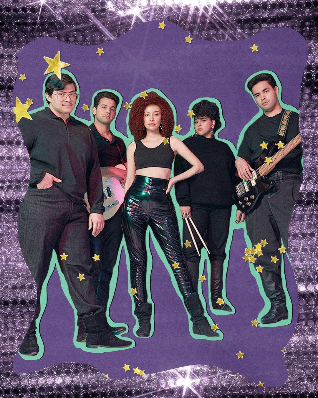 Selena Quintanilla y su banda