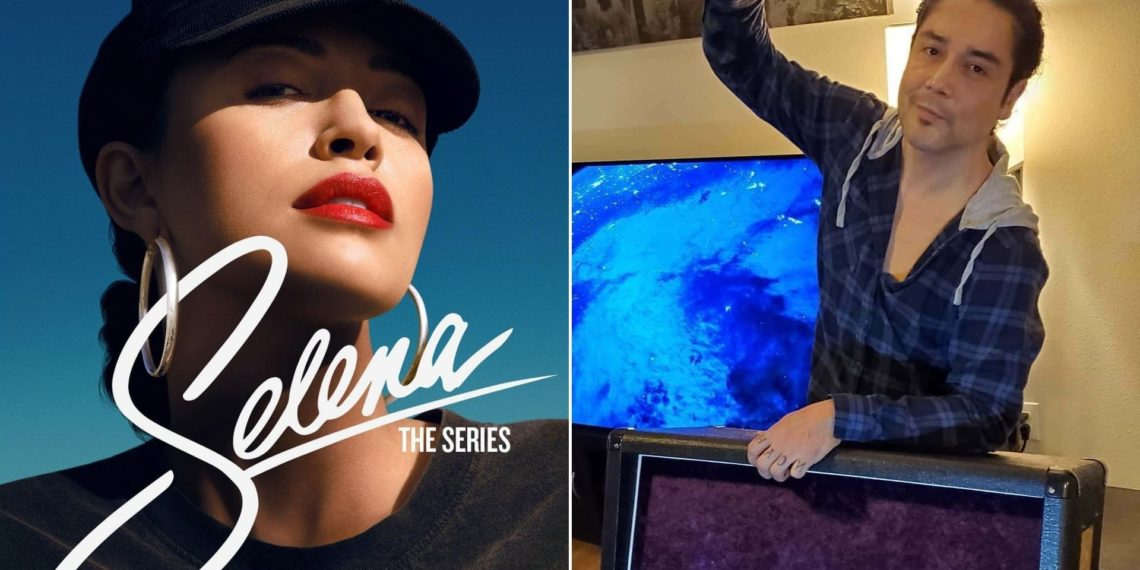 viudo de Selena Quintanilla reacciona a la serie