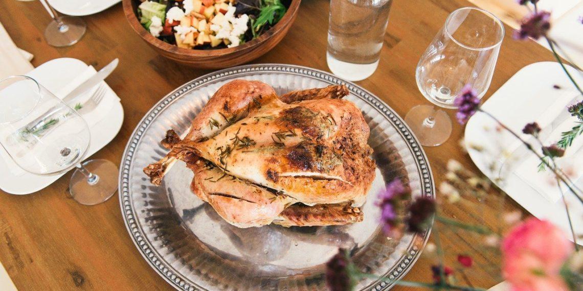 Receta de pollo relleno al horno con papas