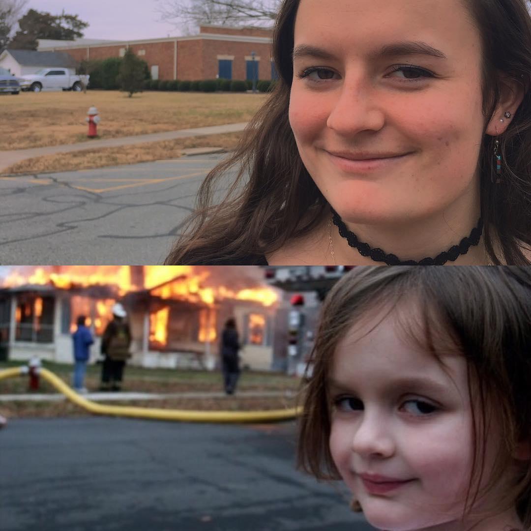 Zoe Roth: así luce la niña del meme 'Disaster Girl' años después de su fama