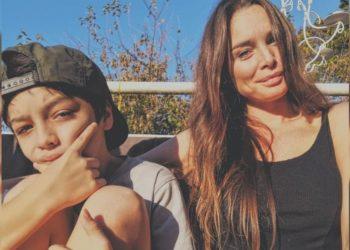 Catalina Artusi y su hijo. Foto: Instagram/ bycatalina
