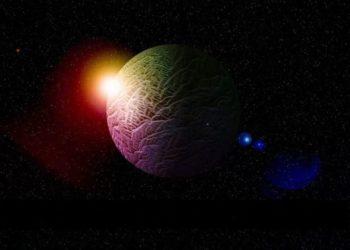 conjunción Mercurio Júpiter Saturno