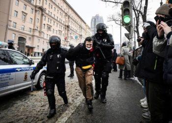 Rusia manifestantes