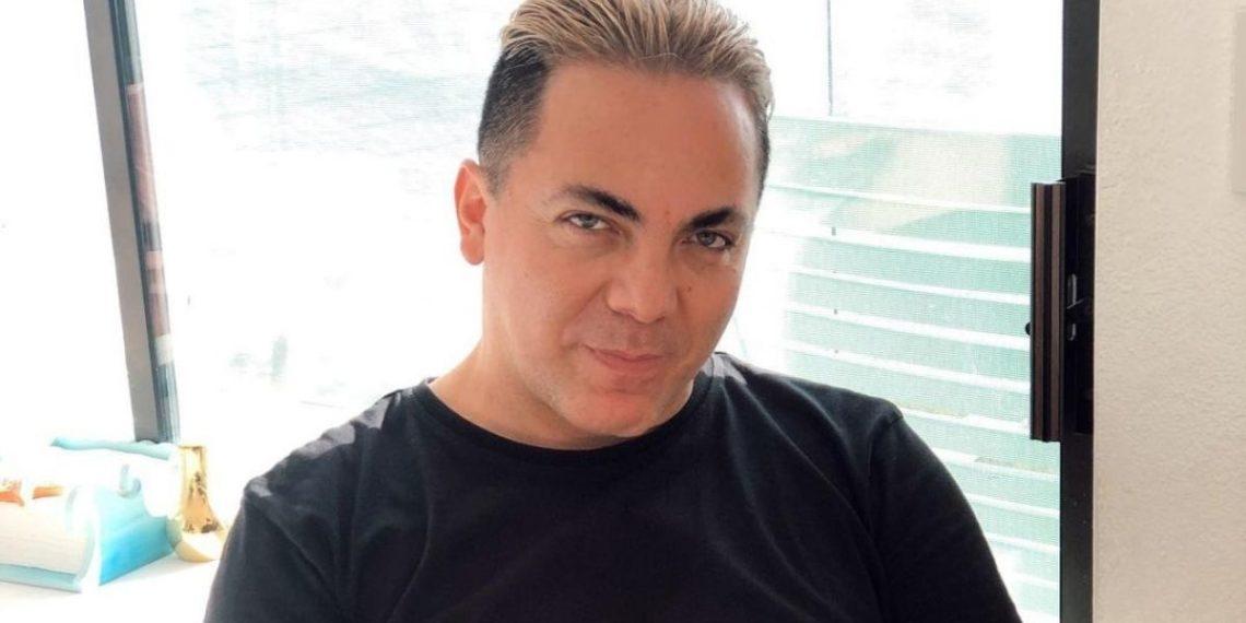 Cristian Castro presumió de su nueva novia