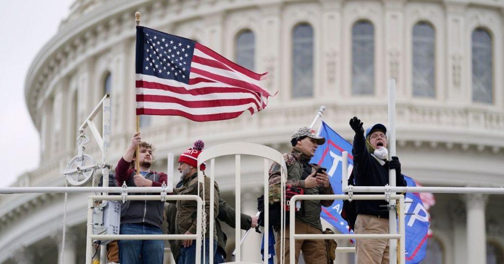 Manifestantes pro Trump se toman el Congreso de Estados Unidos