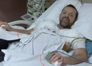 Félix Gretarsson trasplante de brazos