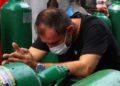 Manaos por encontrar oxígeno para salvar a pacientes de COVID-19