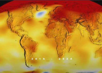 El 2020 fue el año más cálido en la historia del planeta