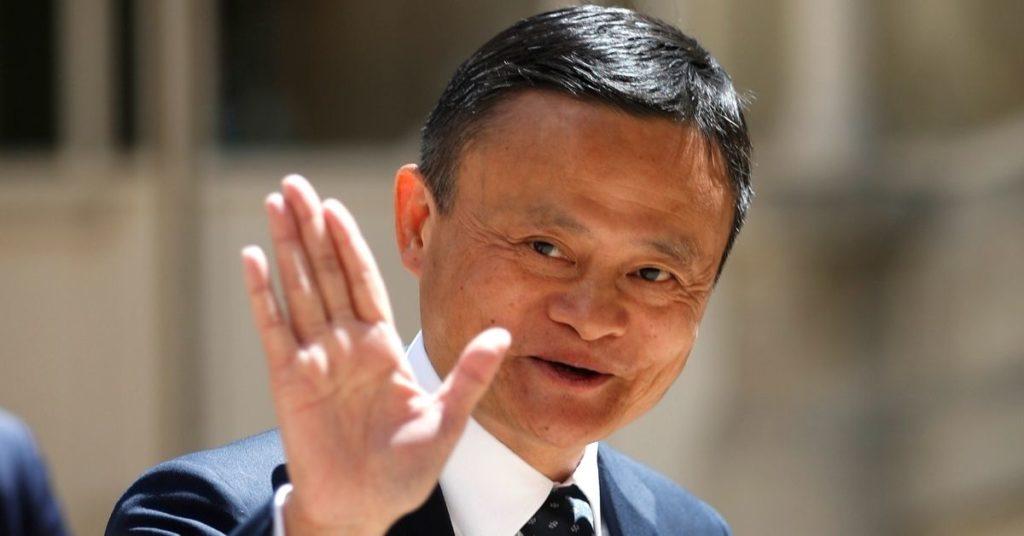 El multimillonario y empresario de China, Jack Ma