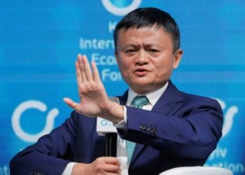 El multimillonario chino y fundador de Alibaba, Jack Ma