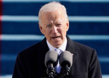 El presidente de Estados Unidos. Joe Biden.