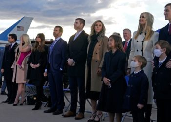 Trump extendió privilegios de protección del servicio secreto a sus hijos por seis meses