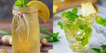 Recetas de agua con limón para adelgazar